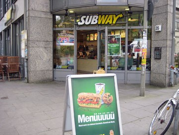 SUBWAY am Campus