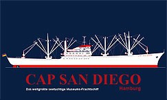 Cap San Diego Museums-Frachtschiff